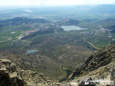 Maliciosa - Sierra de los Porrones [Serie Clásica] guia de senderismo rutas para andar pueblos aban